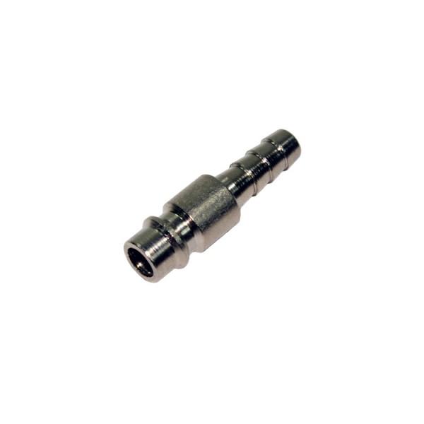 Druckluft Stecknippel mit 8mm Schlauchtülle NW 7,2