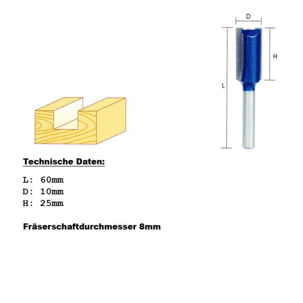 Hartmetall Schaftfräser 10mm